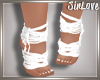 § White Foot Wraps ♥