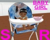 baby high chair/ angels