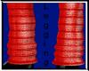 Red Knit Leggings