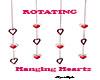 Rotating Hangng Hearts