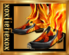 [L] Fire Flame Boots