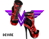 Harley Boots Red