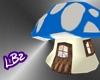[LBz]Mushroom House BLUE