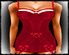 GOTH MRS CLAUS RED DRESS