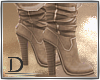 . Tan Leather Boots