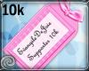 EDJ 10k Support Sticker