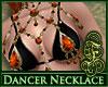 Dancer Necklace FireOpal