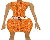 OG Lady Dress Orange BBB