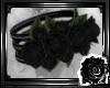 *L*Rose-Armbands Black