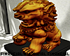 Komainu Gold Statue