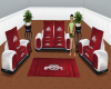 (TK)Ohio State Couch set