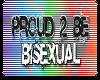 Proud 2 Be Bisexual Logo