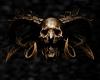 V 3D Diabolical Skull