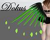 Green Dark Wings
