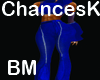 Blue Zippered pant BM