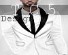Elegance white suit