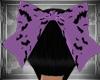 Pastel Goth bat bow