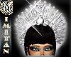 (MI) Queen Silver crown