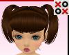 Brunette Kid Pigtails