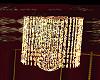 Gold. Crystal Chandelier
