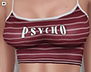 D. Psycho Tee Red