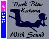 (Nat) Dark Blue Katana