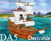 (A) Animated Pirate Ship