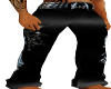 Custom Black Jeans {M}