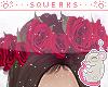 [S] Rose Crown Red