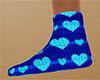 Heart Socks 6 flat (F)