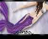 {S} Purple Mermaid Tail
