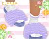 Purple Slippers ❁