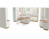 warm white kitchen