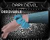 DD|evil Ruffle Cuffs