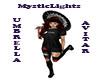 Mandala Black Umbrella