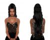 black braided