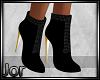 *JJ* Black Suede boots