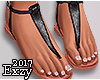 E! Flat Sandals.