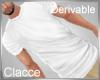 C derv white T shirt M