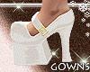 Vintage Shoe - White