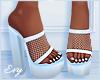 Blue Net Heels
