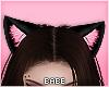 eBlack Kitty Ears