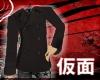 [PM] Black Short Coat