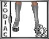 Grey Platform Heel PVC