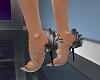 B's gray heels