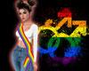 Rainbow Female Sash
