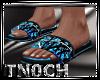 Sandals Camo Blue