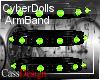CyberDoll ArmBand Toxic