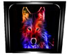 ~S~ neon wolf picture