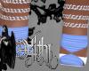 tasha blue heels